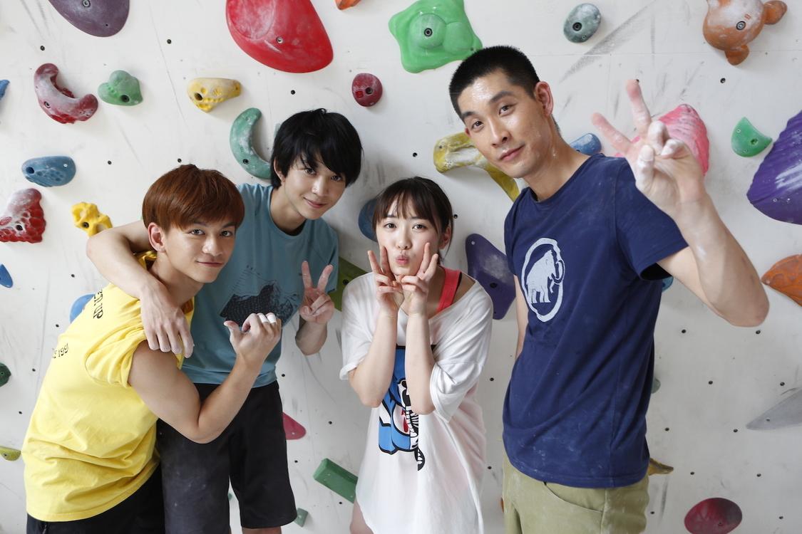 工藤遥 主演映画『のぼる小寺さん』、撮影時オフショットを公開!