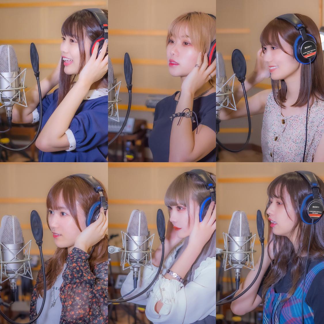 ニジマス 江嶋綾恵梨、しゅかしゅんMAINAら、歌うまアイドル6人が集結!Cheer song project 1st unitが「エール」配信