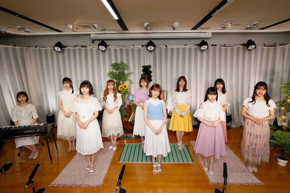 <HKT48 THE LIVE~STUDIO LIVE SONG VOL.1~>レッスン場(2020年7月5日) ©Mercury