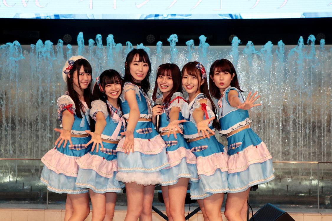 3rd Single「イトシラブ」リリース記念イベント│2018.12.12 池袋サンシャインシティ噴水広場