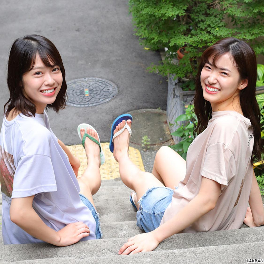 AKB48 Team8 小田えりな&下尾みう、げんべいとのコラボグッズアンバサダーに決定!